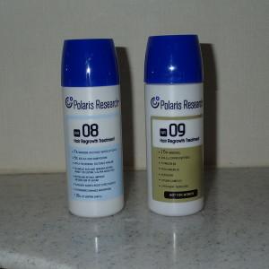 育毛剤NR-08とNR-09